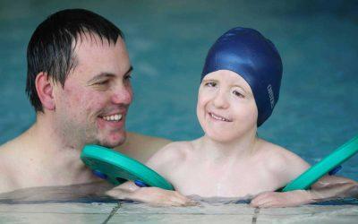 Schwimmen für besondere Kinder