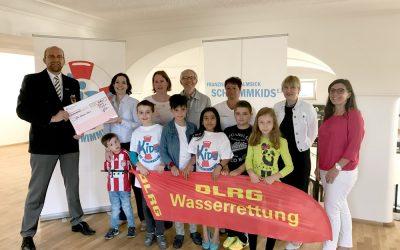 DLRG und Franziska van Almsick's Schwimmkids e.V. starten ein neues Projekt